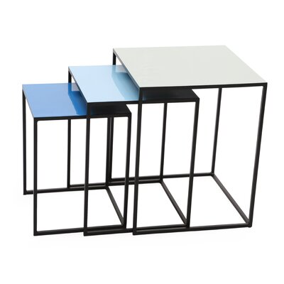 Foreign Affairs Home Decor Bluejay 3 Piece Nesting Tables