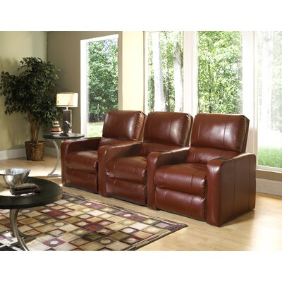 RowOne Manhattan Home Theater Recliner (Row of 3)