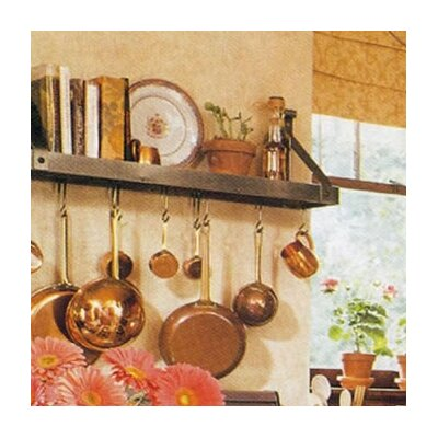 Enclume Bookshelf Pot Rack & Reviews | Wayfair