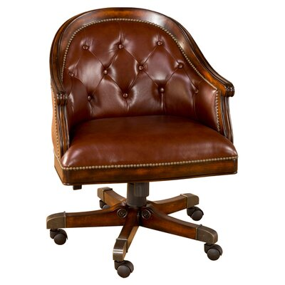 Hillsdale Furniture Harding Leather Mid-Back Desk Chair