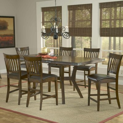 Hillsdale Furniture Arbor Hill 7 Piece Counter Height Dining set Image