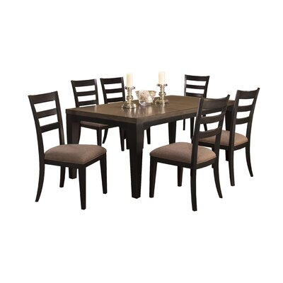 Loon Peak Bow Mar 7 Piece Dining Set