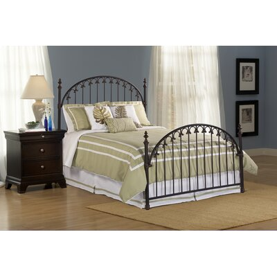 Hillsdale kirkwell panel bed reviews wayfair for Furniture 2 day shipping