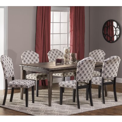 Hillsdale Furniture Lorient 7 Piece Dining Set