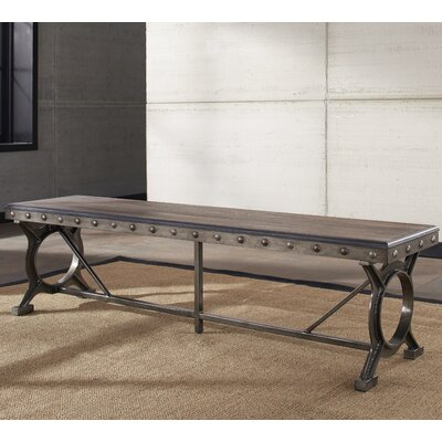 Trent Austin Design Merino Metal/Wood Kitchen Bench