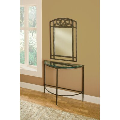Hillsdale Furniture Marsala Console Table with Mirror