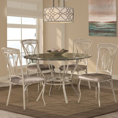 Rosalind Wheeler Caldanagh 5 Piece Dining Set