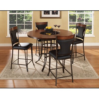 ultimate accents dynasty 5 piece counter height dining set u0026 reviews wayfair
