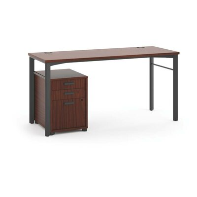Basyx by HON Manage Pedestal Writing Desk