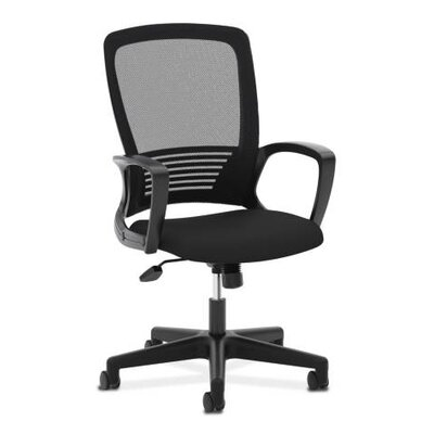 Basyx by HON VL525 High-Back Mesh Task Chair with Arms