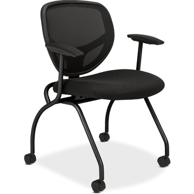 Basyx by HON Mesh Back Nesting Guest Chair (Set of 2)