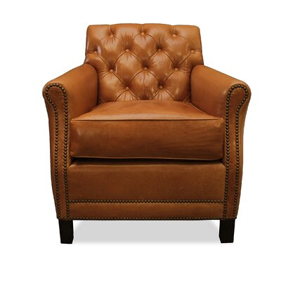 South Cone Home Riga Leather Arm Chair