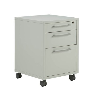 Latitude Run Bianca 3 Drawer Mobile File