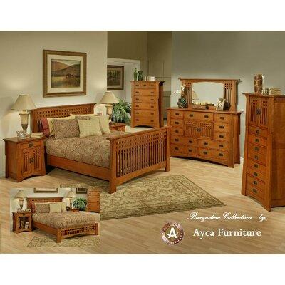 AYCA Furniture Bungalow Platform Customizable Bedroom Set