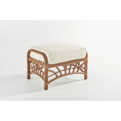 South Sea Rattan New Kauai Grasmere Cocoa Ottoman