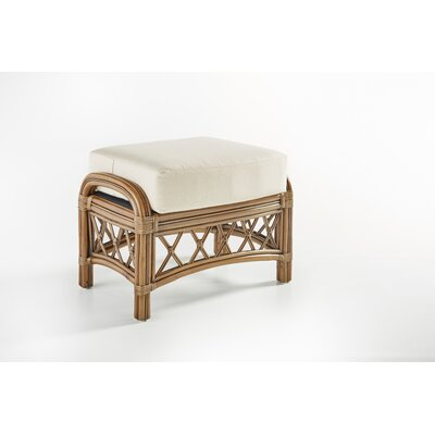 South Sea Rattan Nadine Bamboozle Plantain Ottoman