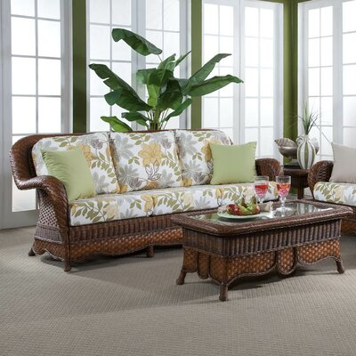 South Sea Rattan Autumn Morning Bamboozel Plantain Sofa