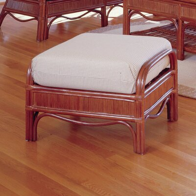 South Sea Rattan Bermuda Bamboozel Plantain Ottoman