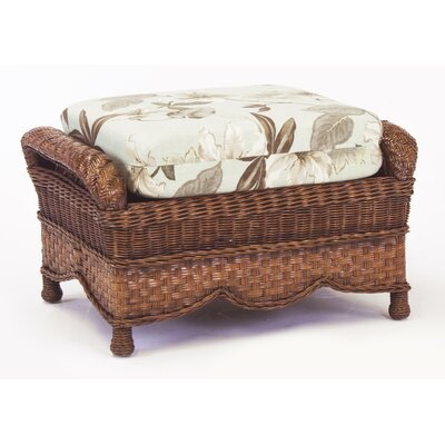 South Sea Rattan Autumn Morning Bamboozle Plantain Ottoman
