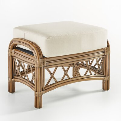 South Sea Rattan Nadine Grasmere Cocoa Ottoman