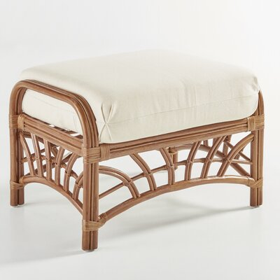 South Sea Rattan New Kauai Ariel Sunset Ottoman