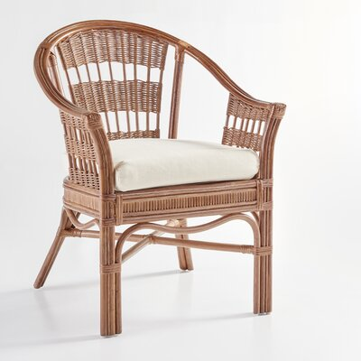 South Sea Rattan Bermuda Arm Chair