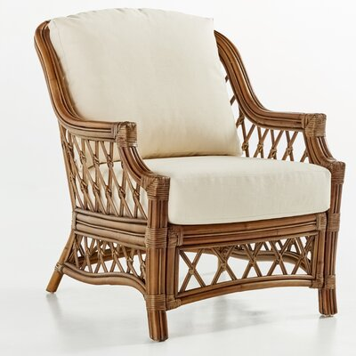 South Sea Rattan Nadine Bamboozel Plantain Armchair