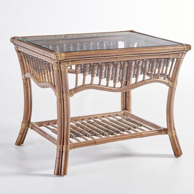 South Sea Rattan South Pacific End Table