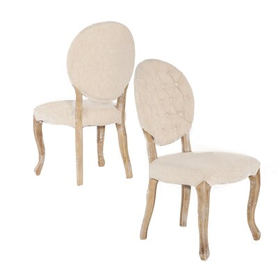 Linon & Linon Rug Event Bradford Side Chair (Set of 2)