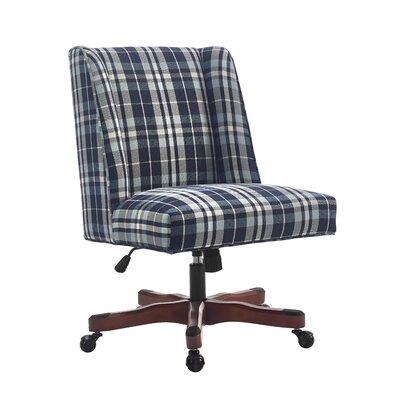 Linon & Linon Rug Event Draper Mid-Back Desk Chair Image