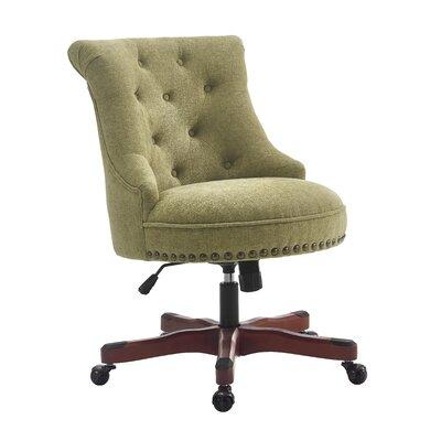 Linon & Linon Rug Event Sinclair Mid-Back Desk Chair