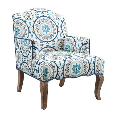 Linon & Linon Rug Event Teena Suzani Arm Chair