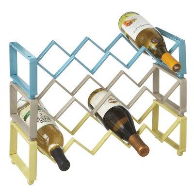 CBK Zig Zag Stacking 4 Bottle Tabletop Wine Rack (Set of 3)