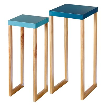 Mercury Row Braziel 2 Piece Nesting Tables