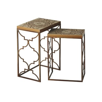 CBK Toscana 2 Piece End Table Set (Set of 2)