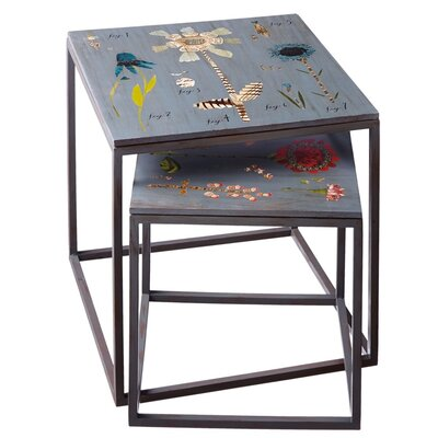 Latitude Run Elverton 2 Piece Nesting Tables
