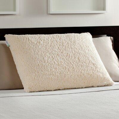 Comfort Revolution Sherpa and Luxury Bed Memory Foam Standard Pillow Wayfair.ca