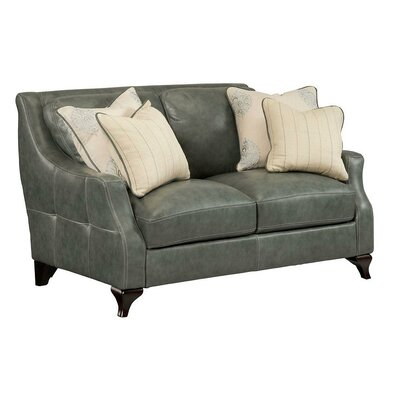 Simon Li Camden Leather Loveseat