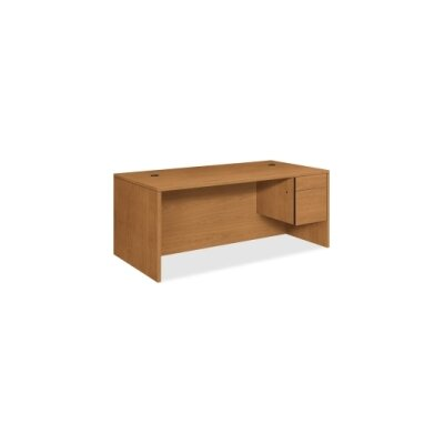 HON 10500 Series Executive Desk with 2 Right Drawers
