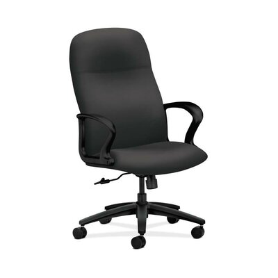 HON Gamut High-Back Executive Chair in Grade V Silvertex Vinyl