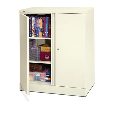 HON Basyx 2 Door Storage Cabinet