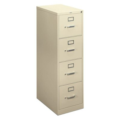HON Basyx H410 Series 4-Drawer Locking  File