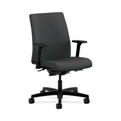 HON Ignition Low-Back Chair in Grade V Silvertex Vinyl