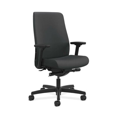HON Endorse Mid-back Task Chair in Grade V Silvertex Vinyl