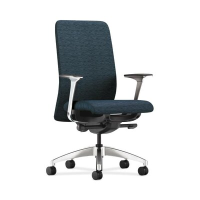 HON Nucleus Upholstered Back Task Chair in Grade III Attire Fabric
