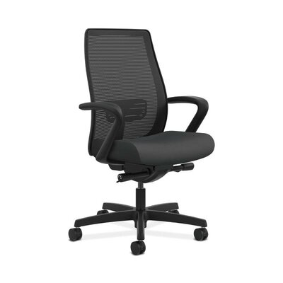 HON Endorse Mesh Mid-Back Task Chair in Grade V Silvertex Vinyl