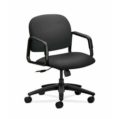 HON Solutions-4000 Series Mid-Back Chair in Grade V Silvertex Vinyl