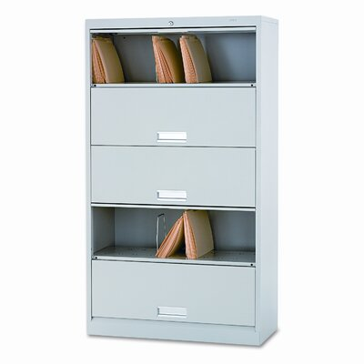 HON 600 Series 5-Drawer Legal File