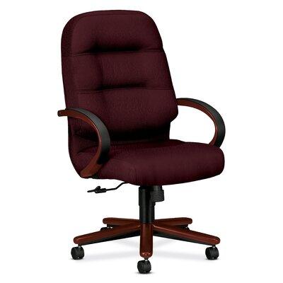 HON Pillow-Soft Wood Series Executive High-Back Chair