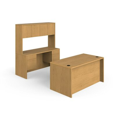 HON 10500 Series 3-Piece Standard Desk Of..